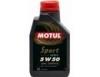 Универсальное моторное масло MOTUL SPORT 5W-50 (1л) синтетическое.