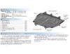 Защита картера и КПП с крепежом MAZDA: CX-5 , V - 2,0 (2011-)/MAZDA: 6 , V-2,0 (2012-)/MAZDA: 3