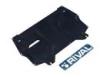 Защита картера и КПП AUDI: A1 (10-) | SEAT: IBIZA (08-)| SKODA: FABIA (07-), V: 1.2/1.4/1.6/1.4TSI/SKODA: RAPID(V - все кроме 1,4 DSG)/ROOMSTER (05-)| VW: POLO SEDAN (10-)