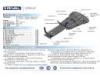 Защита раздаточной коробки с крепежом (алюминий) BMW: Х5/Х6, 35i, 30D ,40d (2007-)