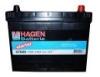 Аккумулятор HAGEN 70 Ah, 540A, 266x172x223mm, ETN 0.