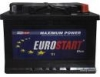 АККУМУЛЯТОР EUROSTART EXTRA POWER 77 Ah 680A 278*175*190 ETN 0 (R) (6СТ-75АЗ)