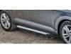 Порог-площадка Kia: Sportage III, 2010-2014/2014-, Hyundai: ix35, 2010-, V - все, (крепеж в комплекте, алюминий)