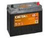Аккумулятор DETA POWER 12 V 45 AH 300 A ETN 0(R+) B0 234x127x220mm 11kg