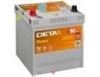 Аккумулятор 50Ah DETA POWER 12V 50AH 360A ETN 1(L+) Korean B1 200x173x222mm 13.6kg