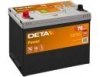 Аккумулятор DETA POWER 12 V 70 AH 540 A ETN 1(L+) B9 266x172x223mm 18.4kg