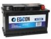 DC72680R_аккумуляторная батарея Edcon 19.5/17.9 евро 72Ah 680A 278/175/175\
